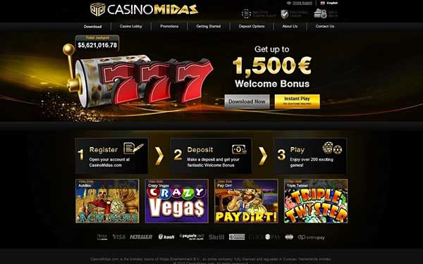Casino Midas Exclusive Bonus