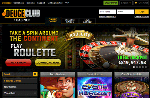 Deuce Club Casino Review
