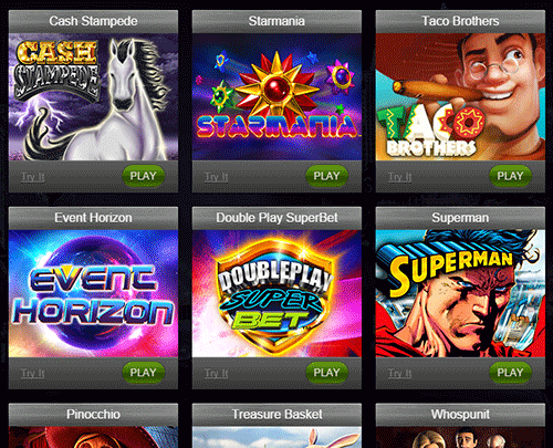 Deuce Club Casino Games