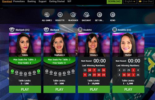 Deuce Club Casino Exclusive Bonus