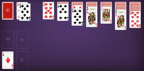 Solitaire on internet